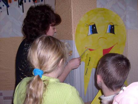 Солнышко улыбается всем детям!