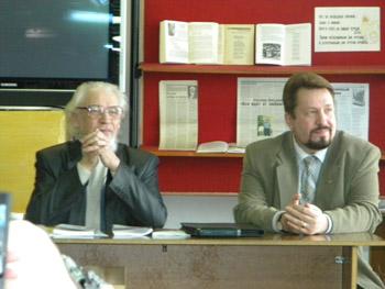 Встреча с поэтом Александром Михайловичем Виноградовым