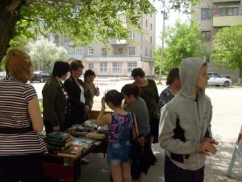 Акция к Всероссийскому Дню библиотек в Детской библиотеке «Лукоморье»