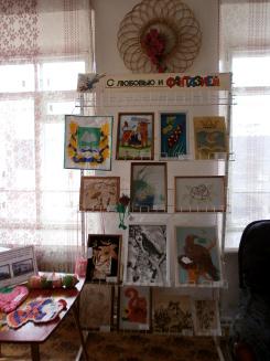 Выставка детского творчества в ЦДЮБ им. К. Д. Носилова