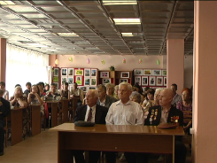 Встреча, посвящённая Дню памяти, в Центральной библиотеке им. А. Н. Зырянова