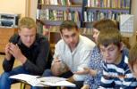 Деловая игра для молодёжи в Центральной библиотеке им. А. Н. Зырянова