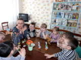 «Гусь  Сизокрылышко» для ребят ДОУ №23 «Солнышко» в Центральной детско-юношеской библиотеке им. А. Н. Зырянова