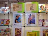 Выставка-экспозиция творческих работ к Международному дню матери в Центральной библиотеке им. А. Н. Зырянова