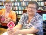 Заключительное занятие клуба «Сударушка» в библиотеке-филиале им. К.А. Некрасовой