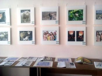 Выставка-экспозиция фоторабот «Из жизни пернатых» Светланы Медведевой и «Зауральские мотивы» Светланы Ильяшенко